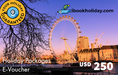 Holiday Packages E-Voucher From I Book Holiday, USD 250